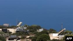 """Комплексы """"Пэтриот"""", размещенные в израильском городе Хайфа"""