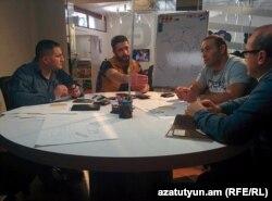 """""""Volteman"""" layihəsini işləyən komanda, Yerevan, 03 iyul 2017"""
