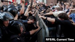 La protestele de la Moscova de la 27 iulie