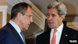 Russian Foreign Minister Sergei Lavrov and U.S. Secretary of State John Kerry frequently discuss the Syrian war and peace process.