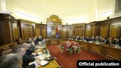 Ռազմարդյունաբերական հանձնաժողովի նիստը Երևանում, 14-ը նոյեմբերի, 2019թ.
