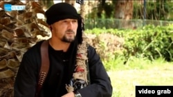 Former Tajik colonel, Gulmurod Halimov, went missing in 2015 before subsequently re-emerging on the Internet, saying he had joined the Islamic State extremist group. (file photo)