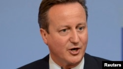 Дејвид Камерон, премиер на Британија