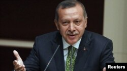Премьер-министр Турции Реджеп Таип Эрдоган. Анкара, 30 июня 2011 года.
