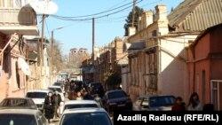 Ադրբեջան - Գյանջա քաղաքի փողոցներից մեկը, արխիվ
