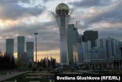 Астананың әкімшілік ауданы. 16 қараша 2011 жыл.