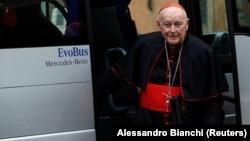 Fostul Cardinal Theodore McCarrick.