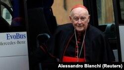 Кардинал Теодор Маккаррик, 2013 г.