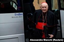 Кардинал Теодор Маккэррик, обвиненный в растлении малолетнего. Фото 2013 года