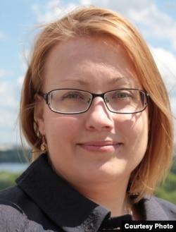 Anastasia Kushleiko, legal director of the RJI