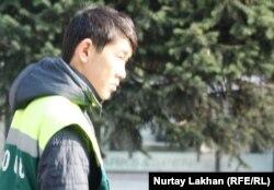 Парковщик по имени Даулет. Алматы, 5 ноября 2013 года.