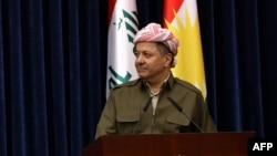 Ирачкиот курдски лидер Масуд Барзани.