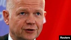 Sekrteari i Jashtëm britanik, William Hague.