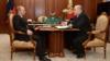 Владимир Путин менен Михаил Мишустин.
