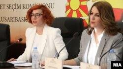 Прес-конференции на Државната изборна комисија (ДИК).