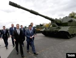Выставка российских вооружений в Нижнем Тагиле Russian Arms Expo, сентябрь 2015 года