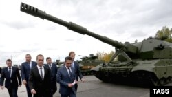 Выставка российских вооружений в Нижнем Тагиле Russian Arms Expo, сентябрь 2015 года.