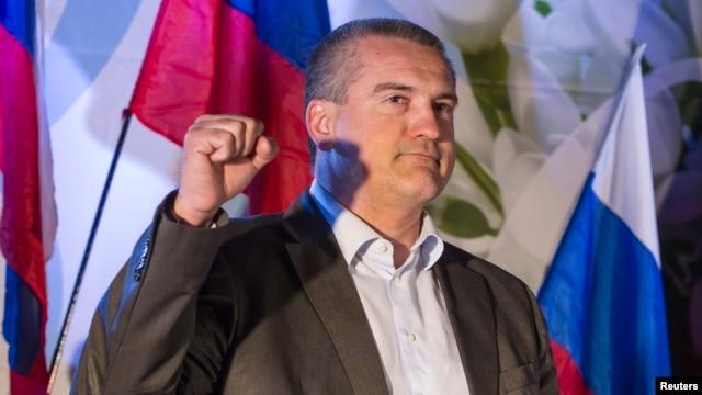 "Sergei Aksyonov said ""we do not need such people."""