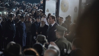Patrijarh Irinej i presednik Srbije Aleksandar Vučić u Beogradu, januar 2019.