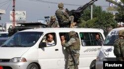 Сотрудники сил безопасности Ливана. Иллюстративное фото.