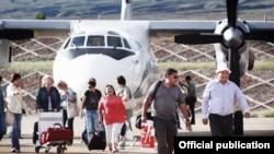 Тамчыдагы аэропорт. Жайкысын Алматыдан түз авиакаттамдар уюштурулат.
