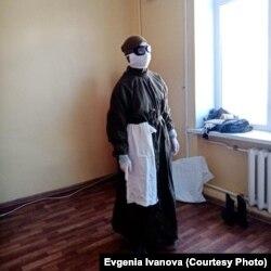 Костюмы, выданные в военном госпитале в Балтийске