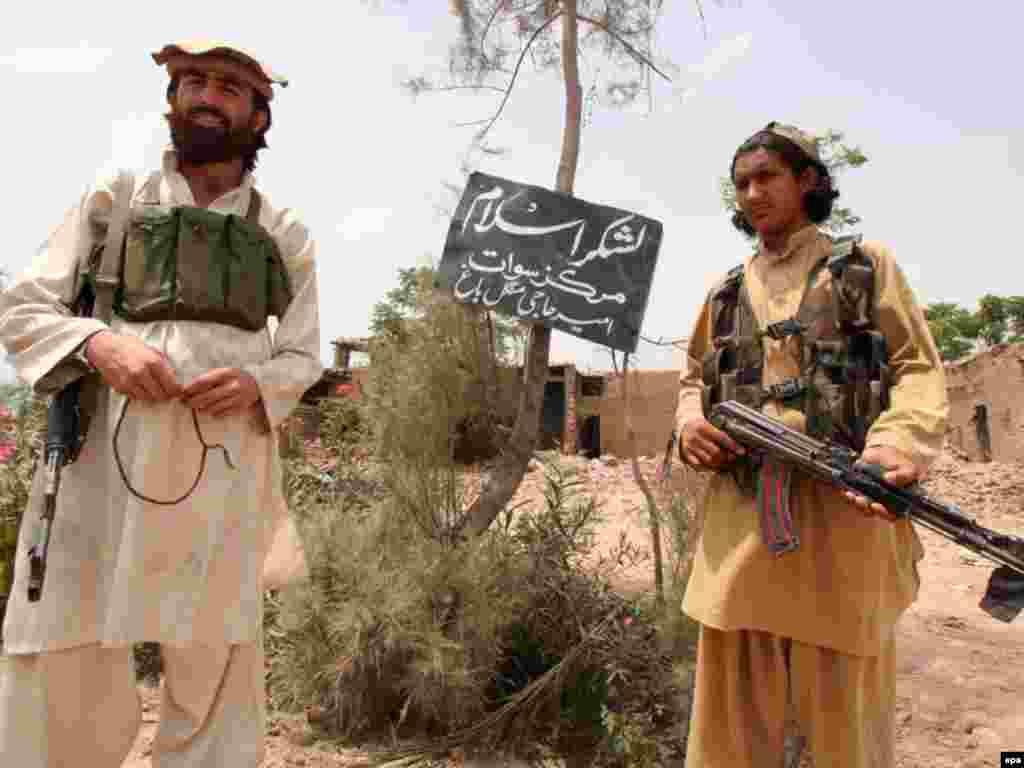 نیروهای طالبان در دره سوات - نیروهای طالبان در دره سوات
