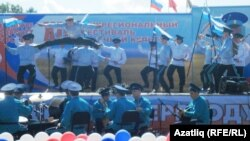На межрегиональном фестивале казачьей культуры, 1 июля 2012