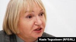 Тамара Калеева, «Әділ сөз» сөз бостандығын қорғау қорының президенті. Алматы, 29 наурыз 2011 жыл.