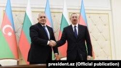 İlham Əliyev və Bolqarıstan Respublikasının Baş naziri Boyko Borisov