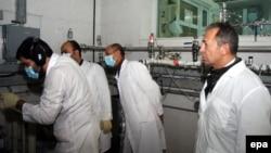 Në objektin bërthamor Natanz, 20 janar 2013.