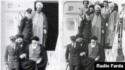آرشیف، آیت الله روح الله خمینی رهبر فقید ایران