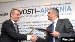 Ermənistanın Gənclər və idman nazirliyi VTB- Ermənistan bankı ilə saziş imzalayır