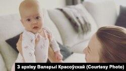 Валерыя Красоўская і яе дачка Стэла Анатолія