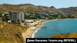 Поселок Орджоникидзе, Крым (архивное фото)