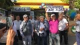 """Kazakhstan - A protest against """"Сhinese expansion"""" in Shymkent. 5 September 2019"""
