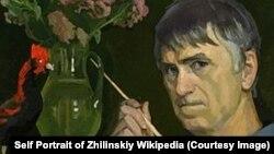 Фрагмент автопортрета Дмитрия Жилинского