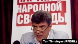 ПАРНАС лидерларидан бири Борис Немцов.