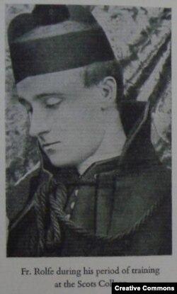 Фредерик Роуф, студент Шотландского католического колледжа, 1890