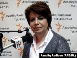 Гюляр Ахмедова, апрель 2011 года