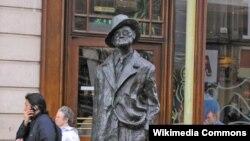 Dublində James Joyce heykəli