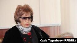 Гулжан Ергалиева.