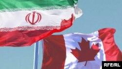 Flamuri iranian dhe kanadez