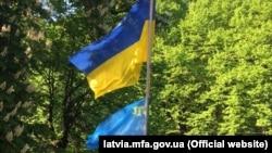 Latviya, Riqada Ukrayna səfirliyi