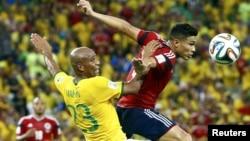 Pamje nga takimi Brazili - Kolumbia