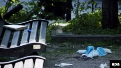 Убийца, 18-летний Ханс ван Темсе, был задержан на месте преступления