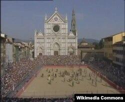 Florensiyada Santa Croce meydanı