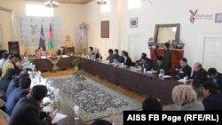 نشست مطبوعاتی مسعود اندرابی سرپرست وزارت داخله افغانستان
