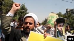 За ливанскими шиитами может стоять Иран. Антиизраильская демонстрация в Тегеране