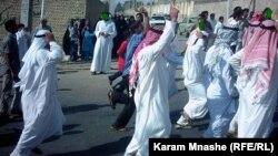 أحوازيون يتظاهرون ضد السلطات الإيرانية